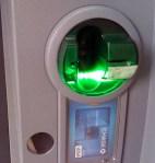 ATM Skimmer 3 on ATM.